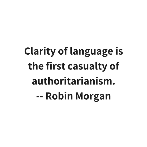 Robin Morgan quote