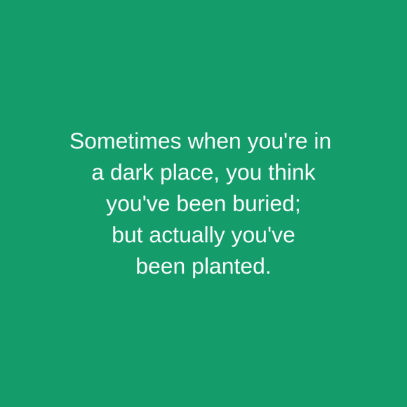 buried vs planted quote