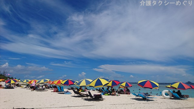 別世界の沖縄・水納島ビーチ