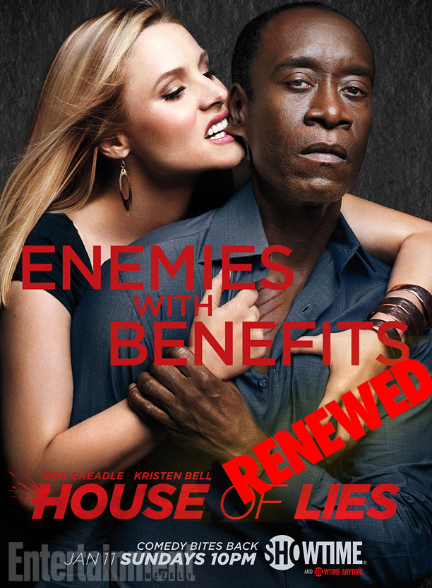 HOUSE OF LIES Key Art (2014)