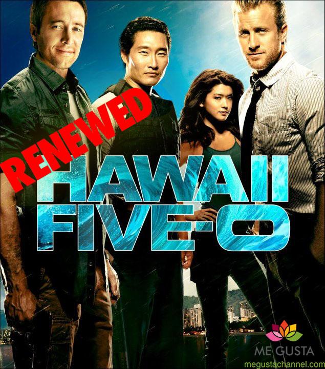 hawaii five-0Renewed