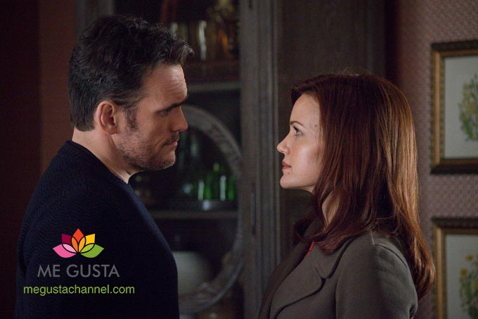 "WAYWARD PINES:  Ethan (Matt Dillon, L) has important information for Kate (Carla Gugino, R) in the ""Betrayal"" episode of WAYWARD PINES airing Thursday, July 2 (9:00-10:00 PM ET/PT) on FOX.  ©2015 Fox Broadcasting Co.  Cr:  Liane Hentscher/FOX"