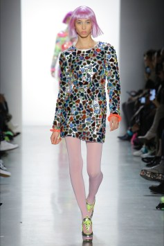 Jeremy Scott abito indossato da Chiara Ferragni