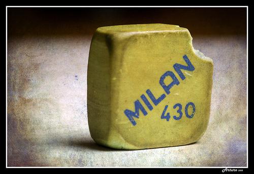 UN CLASICO goma MILAN 430 un borrador nico  me gusta la