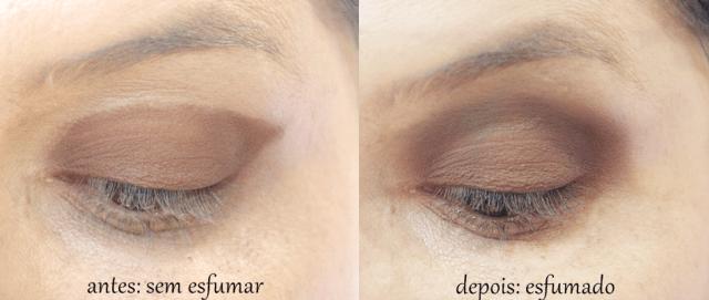 antes e depois de esfumar
