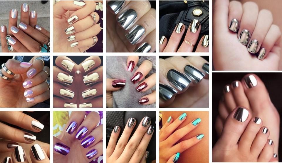 Trendy mirror nails - Trendy: Mirror Nails