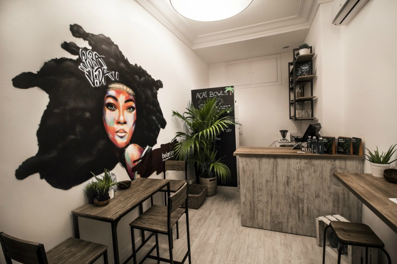 Beleeza bar especializado en açaí de Madrid