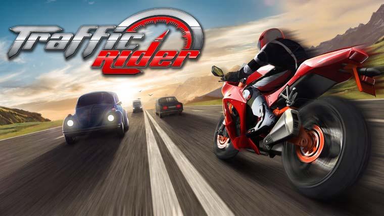 Traffic Rider, para smartphone