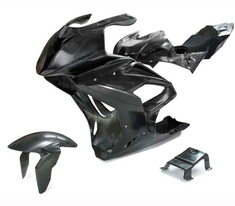 El Carenado, la parte de la moto que recubre el motor