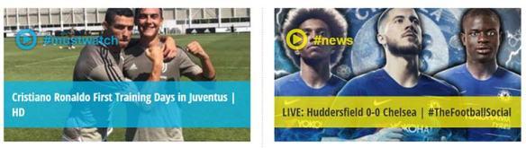 FootyTube, vídeos de fútbol HD