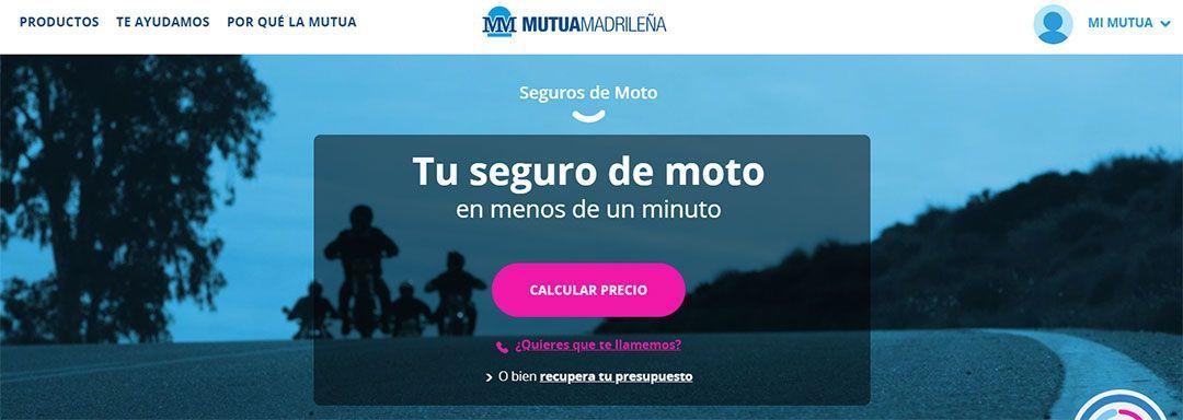 Mutua Madrileña, el seguro de moto más barato