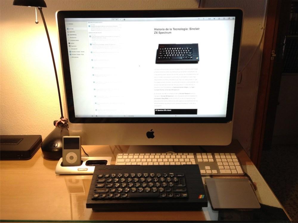 Pelea de Titanes. Zx Spectrum Vs iMac (1/6)
