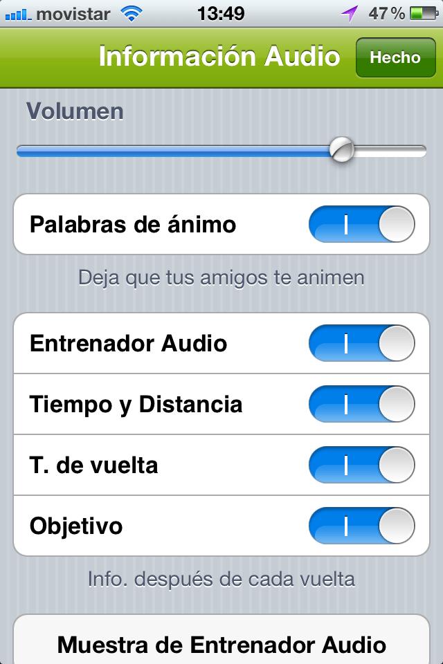 Endomondo para iPhone (2/6)