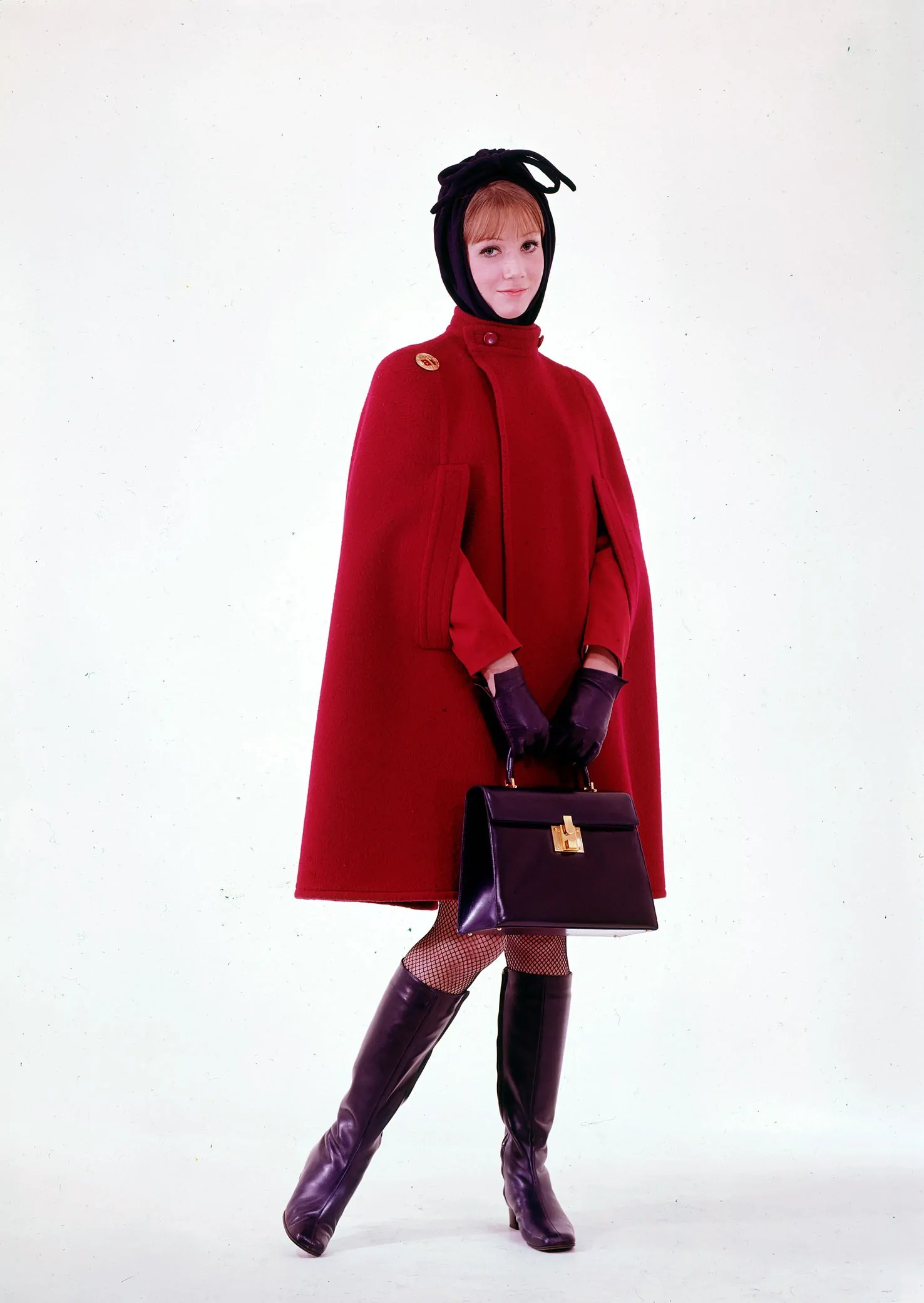 Iberia flight uniform by Manuel Pertegaz, 1968