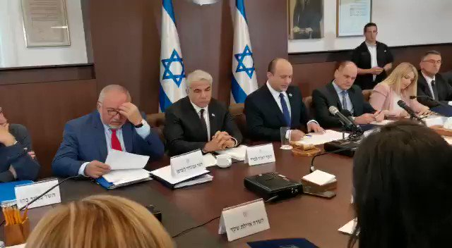 JUST IN - Israel's new PM Bennett says Iran's
