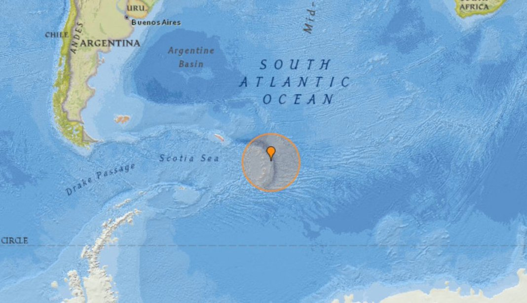 JUST IN - Magnitude 7.6 earthquake, South Sandwich Islands