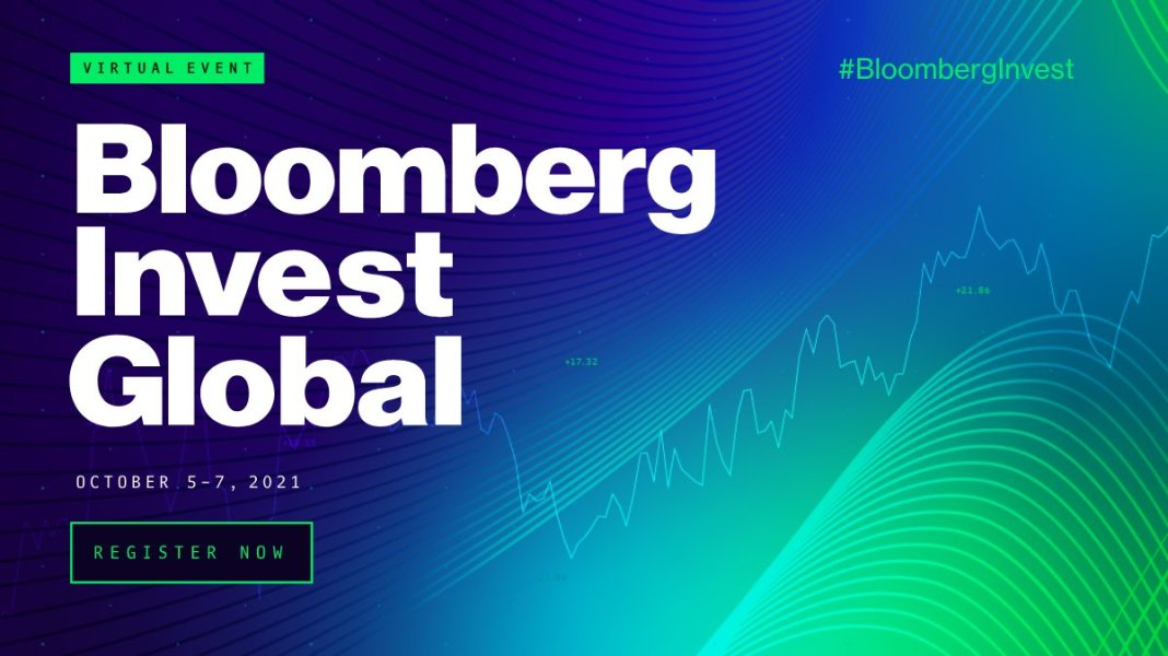 Don't miss market-moving one-on-one interviews, smart panels, and best-in-class analyses at #BloombergInvest - where we take the measure of the recovery and put 2021's most popular investment strategies under the microscope.