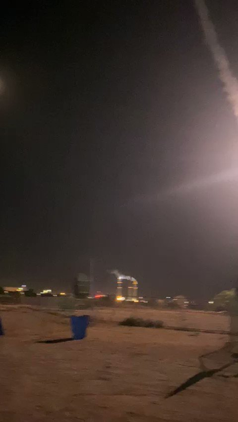 Iron Dome launching as rockets target southern and central Israel from Gaza