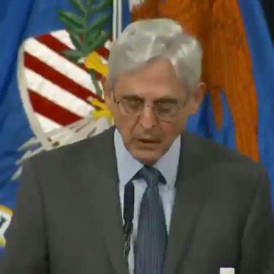 JUST IN - Attorney General Merrick Garland announces that the Justice Department will scrutinize any post-election audits for evidence of vo