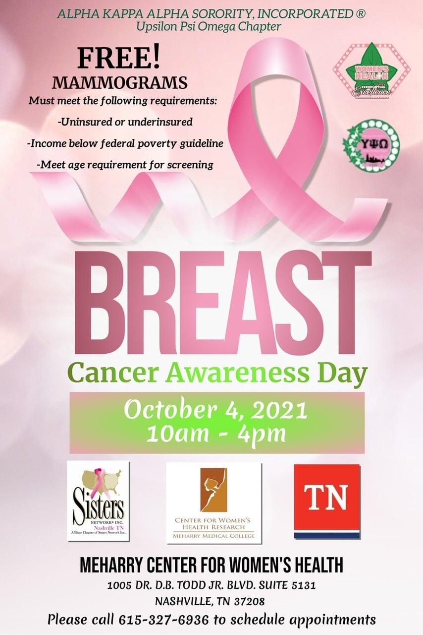 mammogram brochure