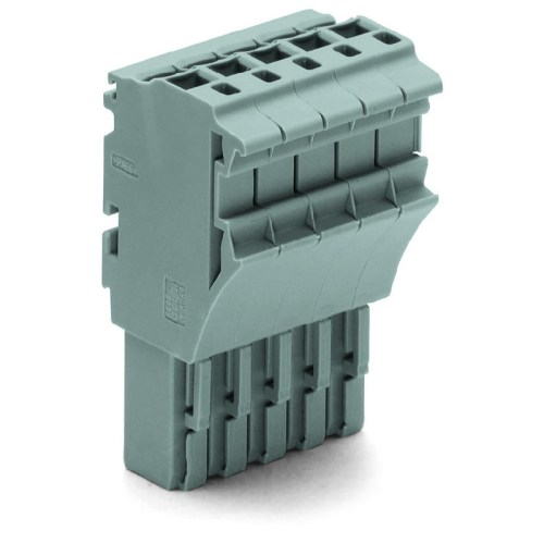 WAGO Priključak-ženski - za 1-provodnik - za provodnike poprečnog preseka 2.5 mm2 - 10-polni - 2022-110