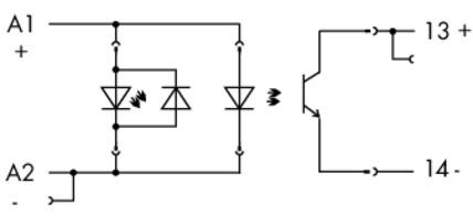 WAGO Postolje relea sa Solid state releom (SSR) - Ulaz 24 VDC - Izlaz 0 … 24 VDC / 5 A - 788-701