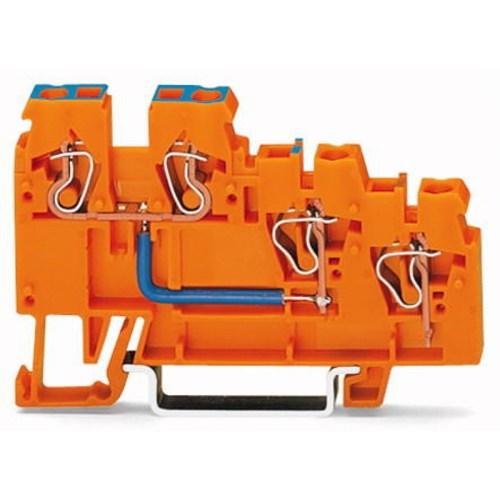 WAGO Senzorska klema - Klema za napajanje - za 3-provodnika - sa obojenim ulazima - 2.5 mm2 - 270-564