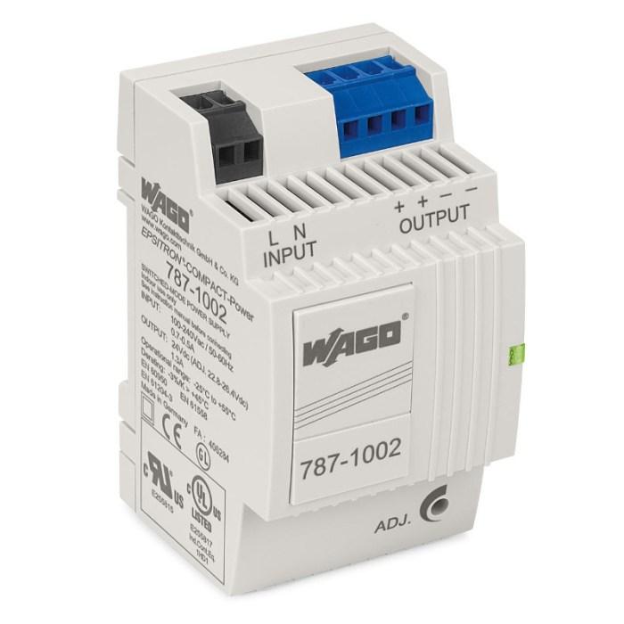 WAGO Svičersko (switched mode) napajanje - EPSITRON® COMPACT POWER - mono-fazno; 24 VDC - 1.3 A - 787-1002