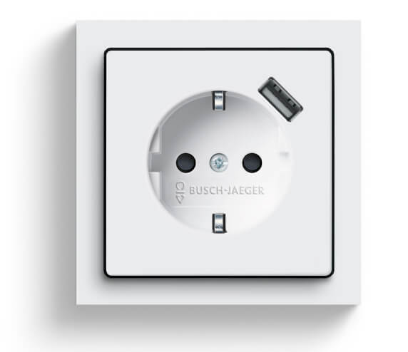 SCHUKO USB socket outlet_Master