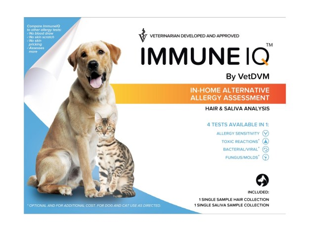 ImmuneIQ Box For At Home Pet Allergy Testing