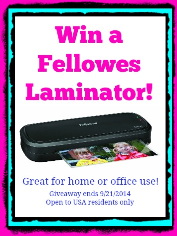 Laminator giveaway