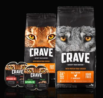 CRAVE Kibble and Wet Food