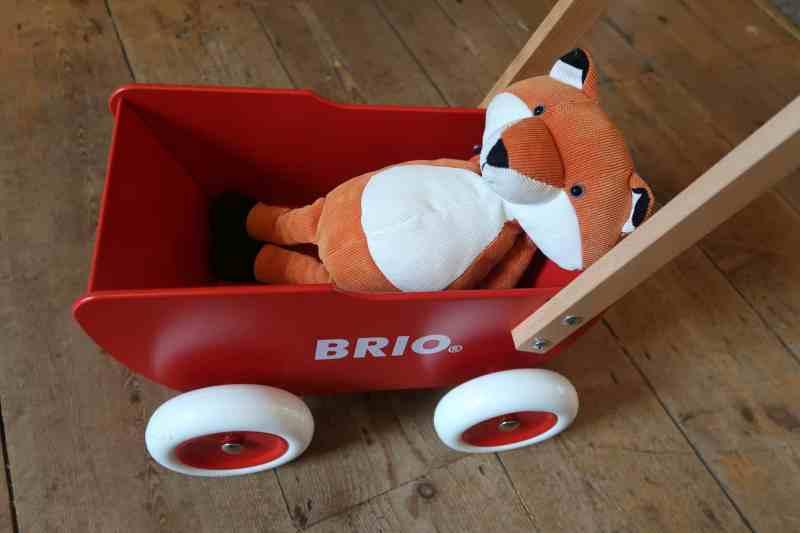 BRIO Wooden Doll Pram