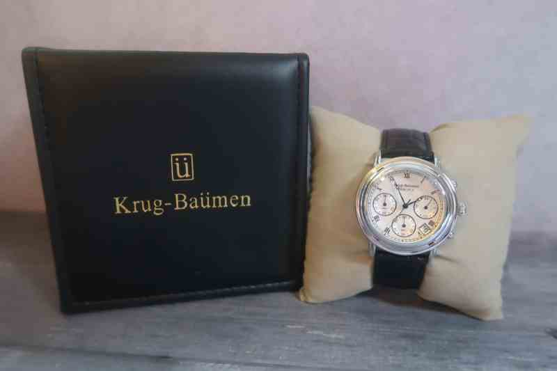 Krug-Baümen Principle Classic Men's Chronograph Watch 2011KM