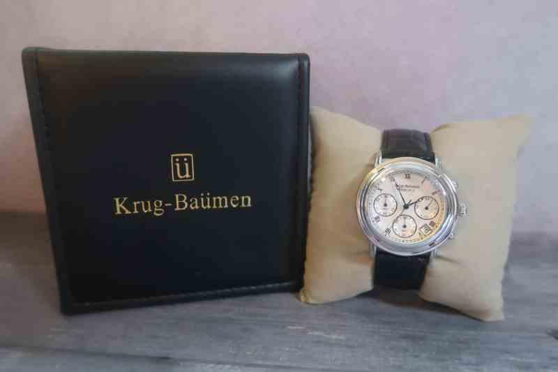 Krug-Baümen Principle Classic Men's Chronograph Watch 2011KM
