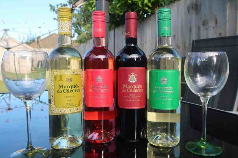 Marques De Caceres wines