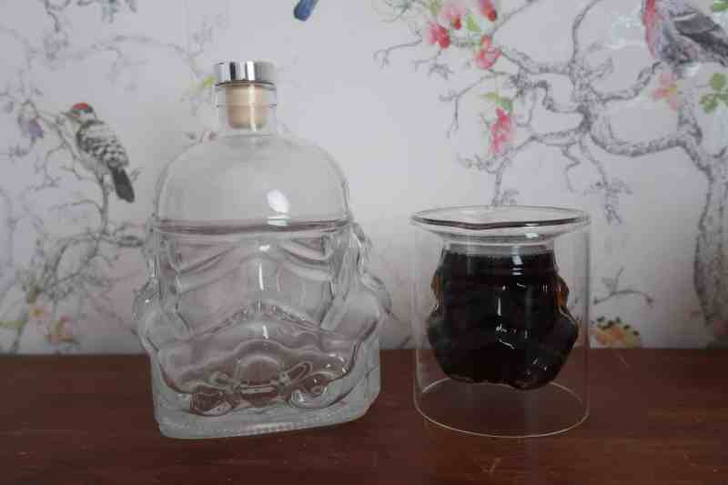 Stormtrooper Glass and decanter