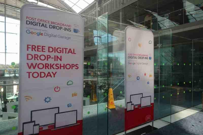 Post Office Broadband Digital Drop In