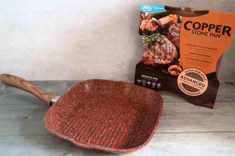 JML Copper Stone Griddle Pan