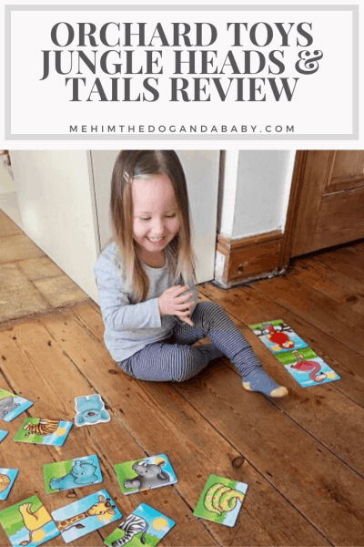 Orchard Toys Jungle Heads & Tails Review