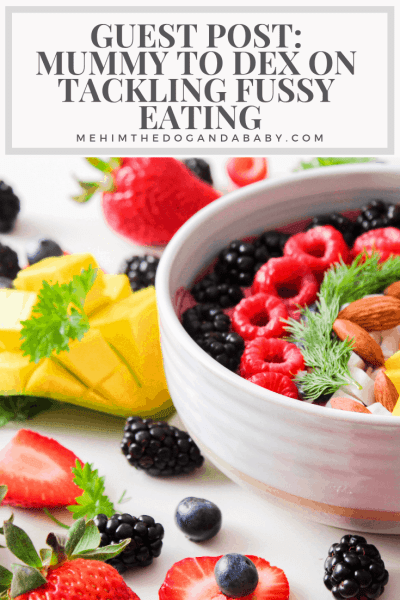 Guest Post: Mummy To Dex On Tackling Fussy Eating