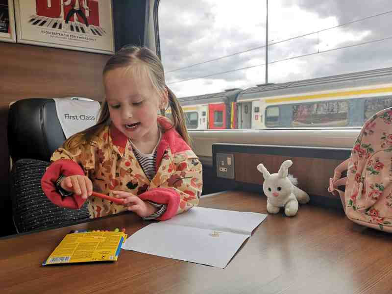 Erin first class Greater Anglia