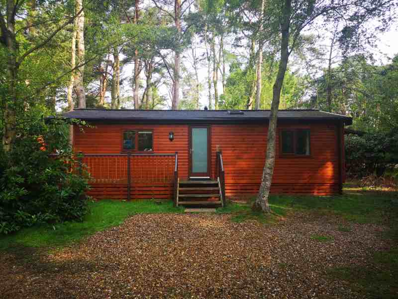 Kelling Heath 2 bedroom woodland lodge