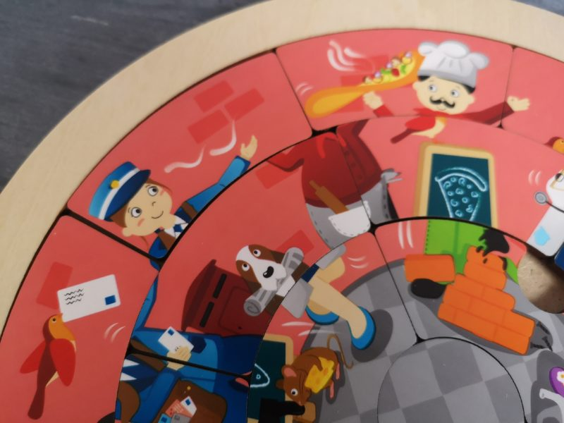 Jobs Roundabout Puzzle