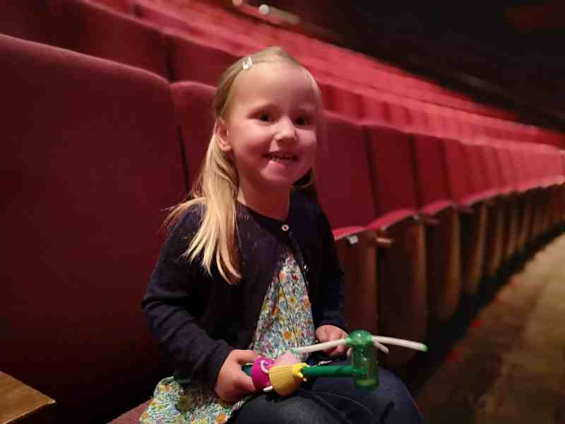 Erin at Norwich Theatre Royal