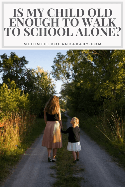 Is My Child Old Enough To Walk to School Alone?
