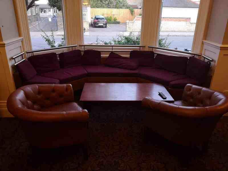 YHA Cambridge lounge