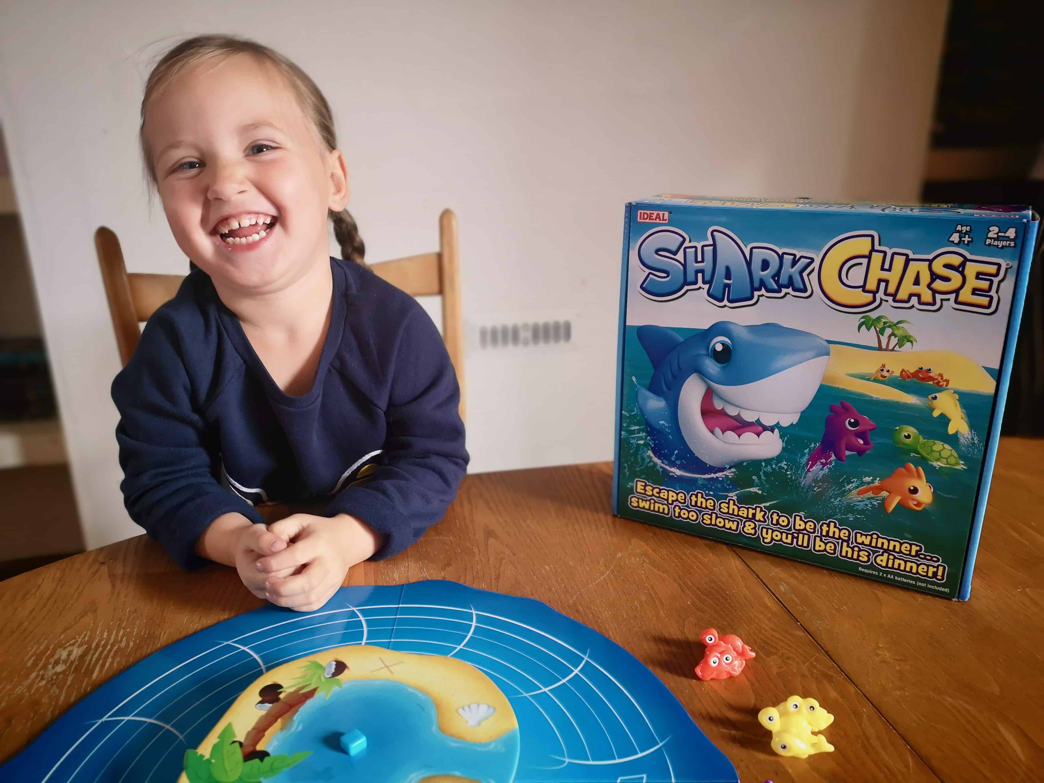 Shark Chase Board Game Review
