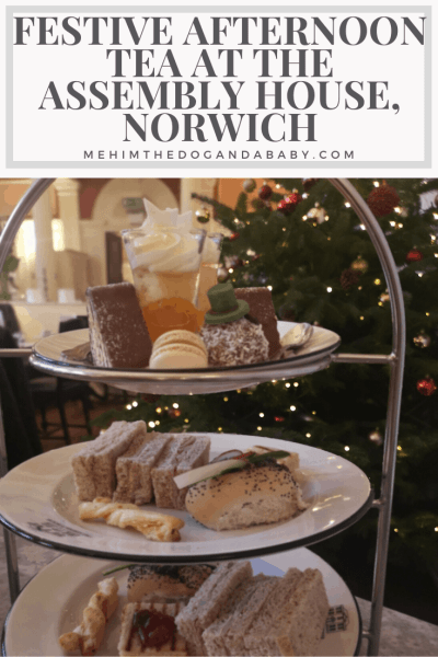 Festive Afternoon Tea At The Assembly House, Norwich