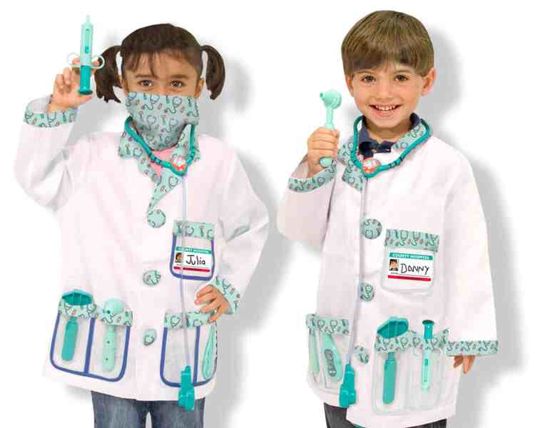 Melissa and DouMelissa and Doug Doctor Role Play Set g Doctor Role Play Set